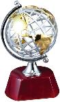 World Globe on Rosewood Base (RWS71)