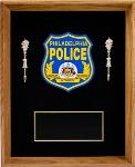 Shadow Box Plaque with Emblem