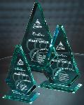 American Diamond Jade Crystal Award