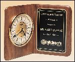 American Walnut Book Clock (BC8)