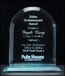 Arch Series Acrylic Award on Acrylic Base. (A6520)